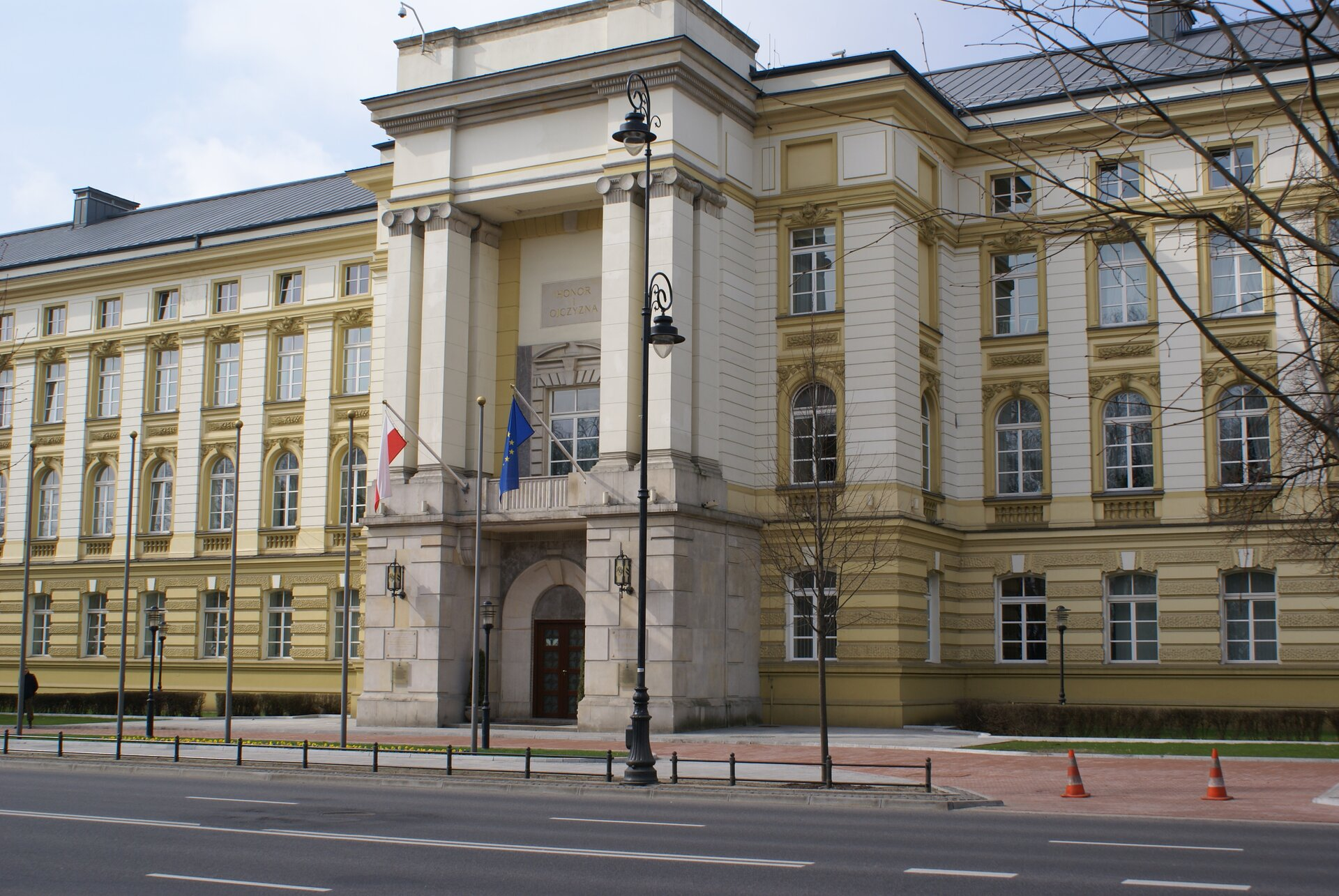 Siedziba Rady Ministrów Siedziba Rady Ministrów Źródło: Laleczki, licencja: CC BY 4.0.