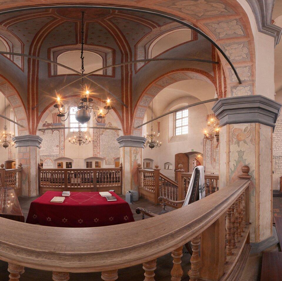 Wycieczka wirtualna po Synagodze wTykocinie