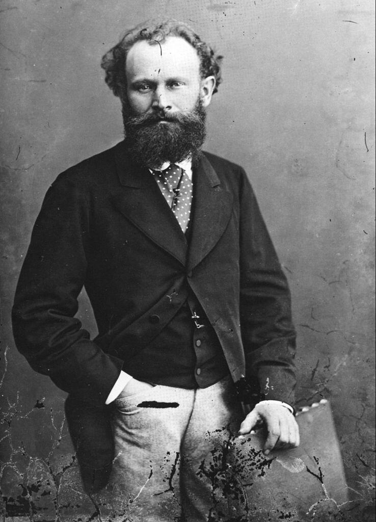 Édouard Manet Źródło: Nadar, Édouard Manet, ok. 1867-1870, fotografia, domena publiczna.