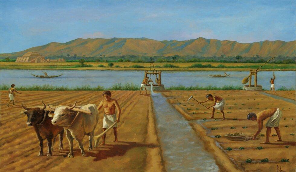 Znalezione obrazy dla zapytania kupcy Mezopotamii