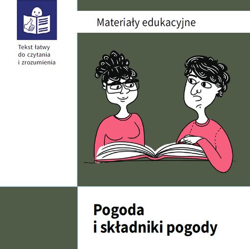 Pogoda ijej składniki - materiały edukacyjne