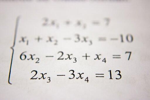 Oznaczony układ równań liniowych zdwiema niewiadomymi
