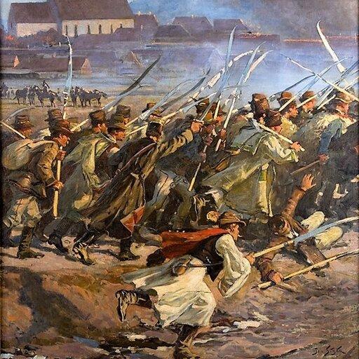 Wiosna Ludów wmonarchii Habsburgów. Rewolucja wWiedniu ipowstanie węgierskie