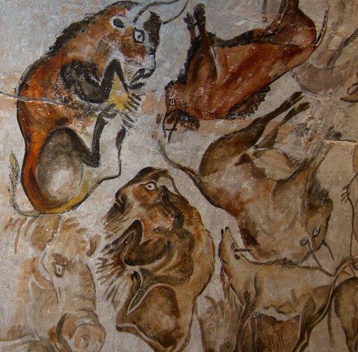 Człowiek prehistoryczny – myślenie abstrakcyjne isztuka