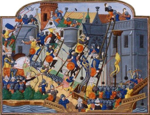 Budowa imperium osmańskiego. Zagrożenie tureckie iupadek Konstantynopola